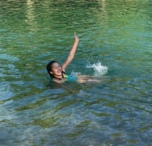 swim in the Blue Hole